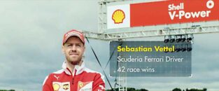 Sebastion Vettel – Shell V Power