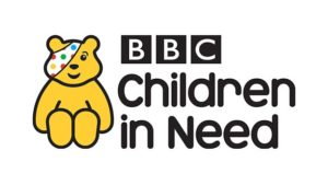 children in need, aerial filming in cumbria